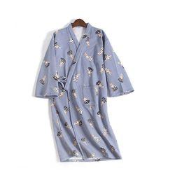 겨울용 유카타잠옷 도트 다람쥐 원피스