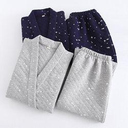 겨울용 유카타잠옷 별바다 투피스 잠옷