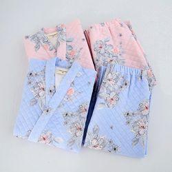 겨울용 유카타잠옷 벚꽃 블러썸 투피스  잠옷