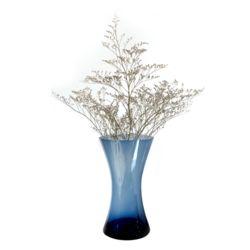 리치 칼라유리꽃화병[블루]