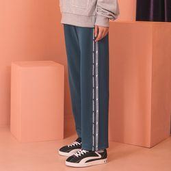 [기모] Crump tape track pants (CP0065-1)