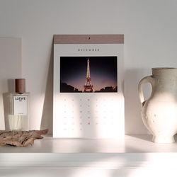 2019 Calendar Cest la vie PARIS