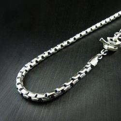 Roundbox-L chain necklace