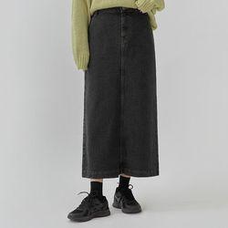 grove denim skirt