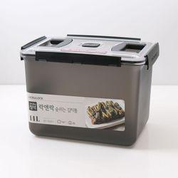 숨쉬는 김치통 14L 그레이 HPL875B 에어 밸브