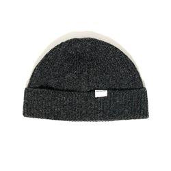 Wool beanie gray
