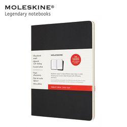 몰스킨 까이에 서브젝트 XL 블랙 크래프트브라운 (2권세트)
