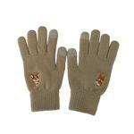 happy corgi glove
