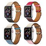 애플워치 4 3 2 싱글투어 가죽밴드 시계줄 스트랩