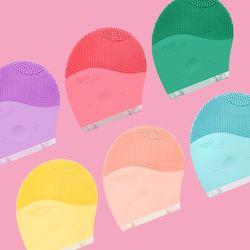 [예약판매 11/15순차발송] Silicone Face Cleanser 진동 클렌저 (3종)