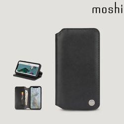 모쉬 아이폰XS Max 지갑케이스 오버추어 블랙