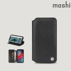 모쉬 아이폰XR 지갑케이스 오버추어 블랙