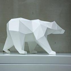 페이퍼크래프트 사라져가는 북극곰