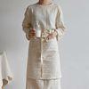 [cotton cloth series] half apron