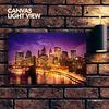 LED액자 캔버스라이트뷰 - 맨해튼의야경
