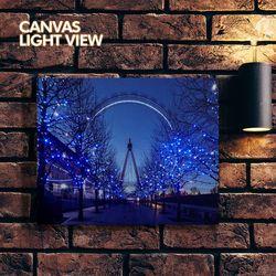 LED액자 캔버스라이트뷰 - 런던아이