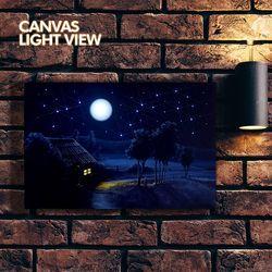 LED액자 캔버스라이트뷰 - 반짝이는시골길