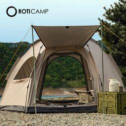 원터치 육각텐트 5인용 캠핑 낚시 용품