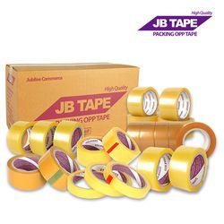 국산 박스 투명 택배 테이프 48mm 60M 40개 황색