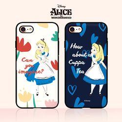 디즈니 앨리스 미러카드범퍼(2디자인)(아이폰6 6S)
