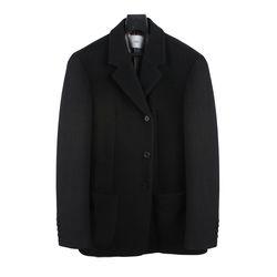 18 FW Wool 3 button Jacket Coat Black
