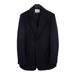 18 FW Wool 2 button Jacket Coat Navy