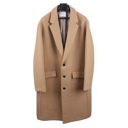 18 FW Wool Semi over Single Coat Beige