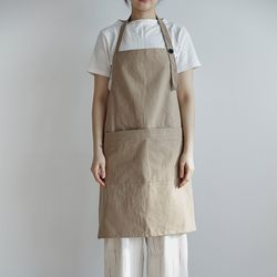 [basic series] apron[beige]