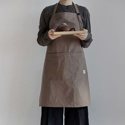 [basic series] apron[brown]