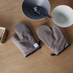 [basic series] oven gloves [brown]