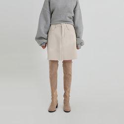 warm benefit mini skirt (2colors)