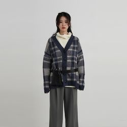 double check line cardigan (3colors)