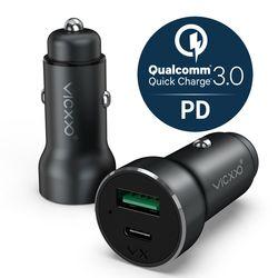 퀄컴 퀵차지 3.0 USB PD 지원 차량용 고속 충전기 CR3