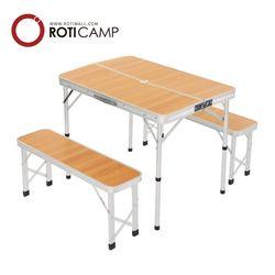 의자분리형 알루미늄 벤치 접이식 테이블 캠핑 낚시 용품