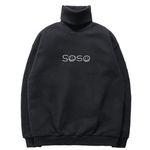 [연예인 착용] 슈퍼레이티브 - SOSO 기모 목폴라 - JSP-1032