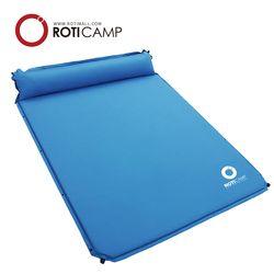 더블 에어매트 베개 일체형 2인용 캠핑 낚시 용품
