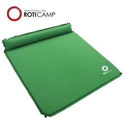 트리플 에어매트 베개 일체형 3인용 캠핑 낚시 용품