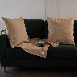 wuseoul [basic series] 50 cushion cover [beige]