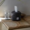 wuseoul [basic series] roll tissue case [charcoal]