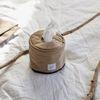 wuseoul [basic series] roll tissue case [beige]