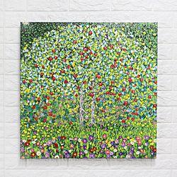 수작업유화 명화 구스타프 사과나무 사과그림 인테리어액자