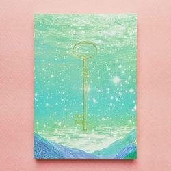 Memo Pad - Dreamy Ocean