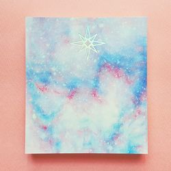 Star Rain Card Pad