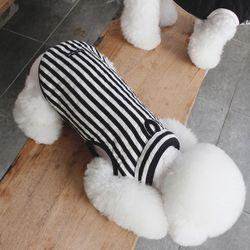 [베이직누빔조끼]basic stripe