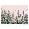 패브릭 포스터 F187 꽃 식물 인테리어 액자 들꽃 [중형]