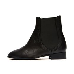 Line ankle boots Black
