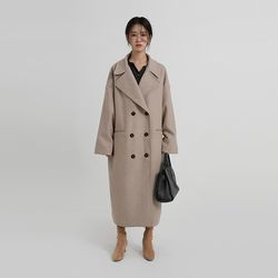 wide over double coat (2colors)