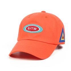 RACE BASEBALL CAP ORANGE
