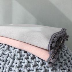 폼폼이 양기모 블랭킷 (2color)