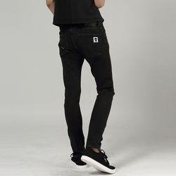 지컬 7101라인 디스트로이드(블랙)네로우슬림 데님팬츠